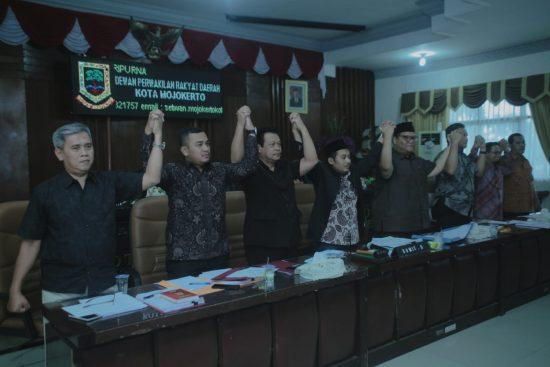 RDP Proyek Mangkrak, DPRD Kota mojokerto Kurang Puas Jawaban Eksekutif