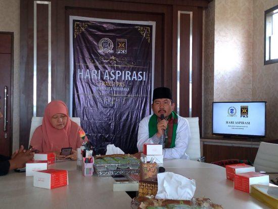 Fraksi Partai Keadilan Sejahtera DPRD Surabaya Luncurkan Hari Aspirasi