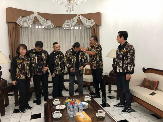 Bertemu Wamenhan, GM FKPPI Tegaskan  Jadi Organisasi Kawah Chandradimuka