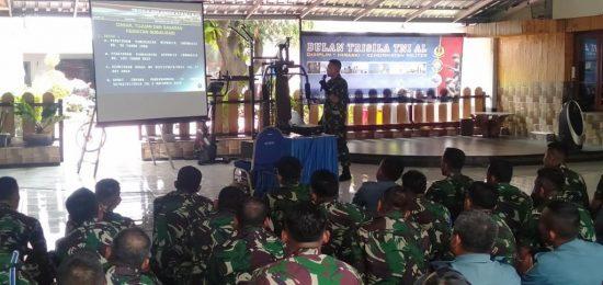 Dansatkat Koarmada II Tekankan Prajurit Mengurus Kartu KPI/S