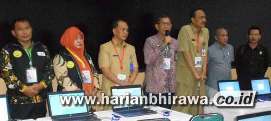 KKR II BKN Surabaya Tinjau 3.781 CPNS Ikuti Tes SKD Kota Madiun
