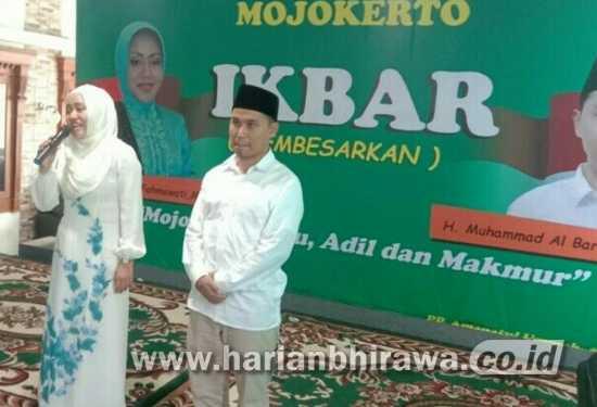 Ikhfina MKP Gandeng Putra Kyai Asep Maju di Pilbup Mojokerto