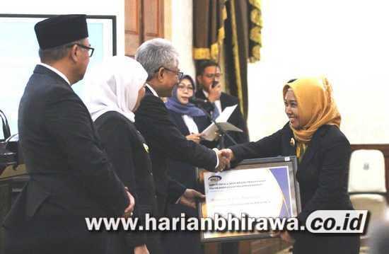 Pemerintah Kota Mojokerto Raih Penghargaan SPIP dari BPKP RI
