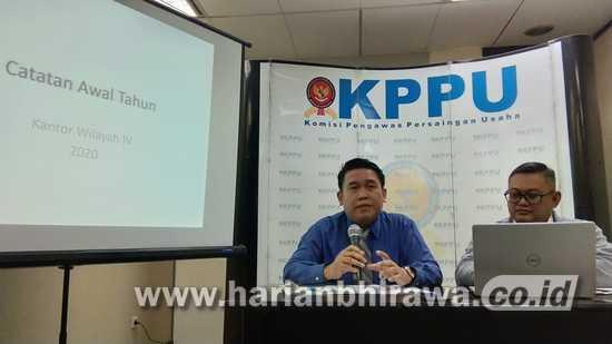 Sepanjang Tahun 2019,  KPPU Kanwil IV  Terima 134 Laporan Masyarakat