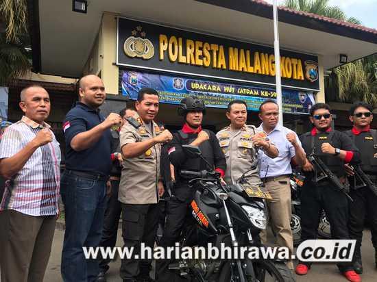 Polresta Malang Kota Bentuk Tim 'Singo Arema Police' Untuk Tekan Curanmor