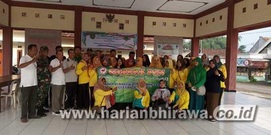 Babinsa 0814/09 Kudu Jombang Gelar PSN Daerah Binaan