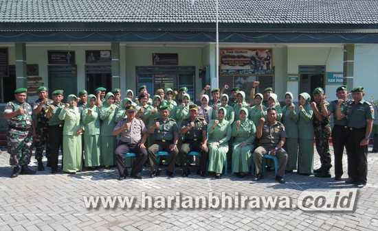 Dandim 0814 Jombang Kunjungi Koramil 0814/13 Peterongan