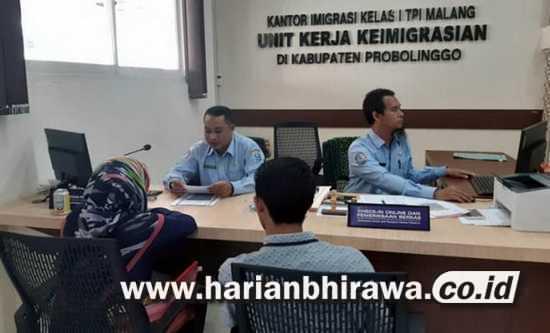 Permintaan Paspor di Probolinggo Tinggi,  Dua Setengah Cetak 1.000 Paspor