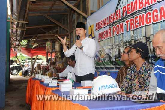Rencana Pembangunan Pasar Pon Kabupaten Trenggalek Akhirnya Terealisasi