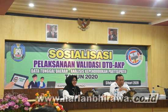 Bappeda Kabupaten Situbondo Sosialisasi Progam DTD-AKP