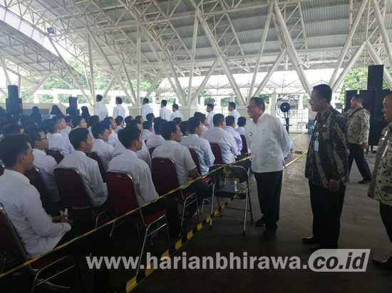Wabup Tuban Tinjau Tes SKD CPNS di Wahana Ekspresi Poespo Negoro Gresik