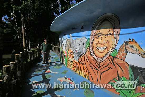 Kebun Binatang Surabaya Dilengkapi Jogging Track dan Media Center