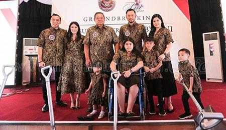 Groundbreaking Museum dan Galeri Seni SBY-ANI