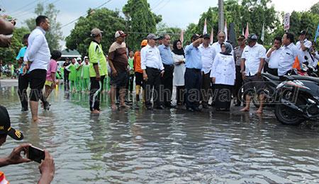 Korban Banjir Dua Desa di Jombang Sudah Tertangani
