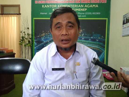 Pendaftar Haji di Kabupaten Sumenep Capai 30 Orang Setiap Hari