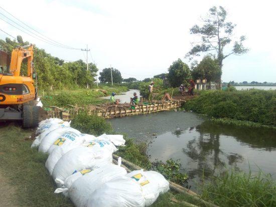 PT Minarak Brantas Gas Ikut Atasi Banjir Tanggulangin Sidoarjo