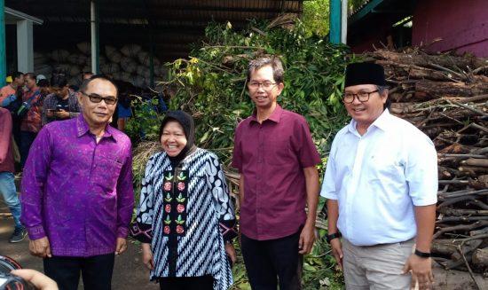 Kunjungi Rumah Kompos, Risma dan Ketua DPRD Bali Bahas Kerjasama Penanganan Sampah