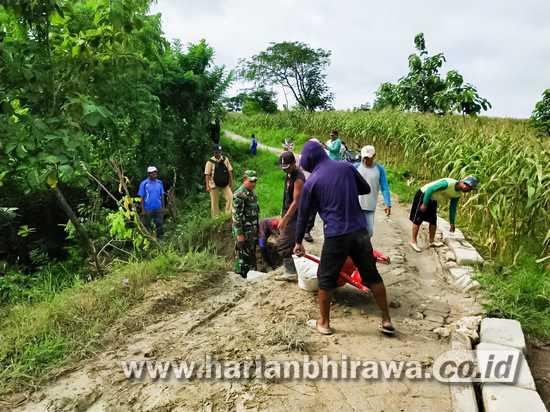 Sinergitas, Wujud Kemanunggalan TNI – Rakyat di Bojonegoro