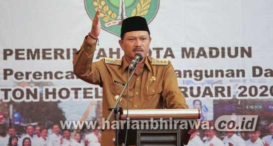 Wali Kota Madiun Buka Rakornis Program CSR