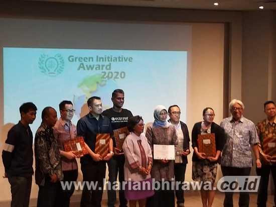 Perusahaan Pendukung Pengurangan Sampah Terima Green Initiative Award 2020