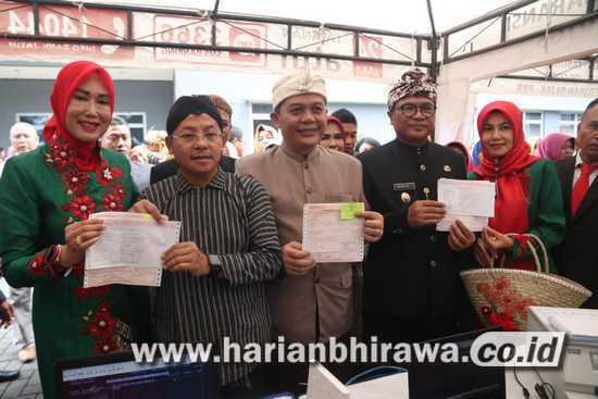Bahasa Walikan Menandai Launching SPPT PBB Bapenda Kota Malang