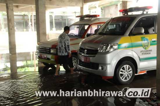 Basement Puskesmas Peterongan Kabupaten Jombang Terendam Air