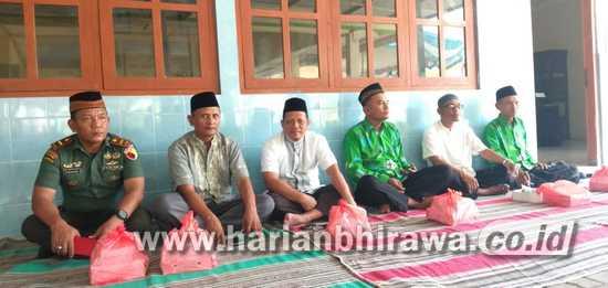Danpos Koramil 0814/09 Kudu Hadiri Acara Selapanan Muslimat NU
