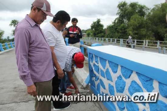Komisi C DPRD Jombang Sidak Jembatan Bongkot Peterongan