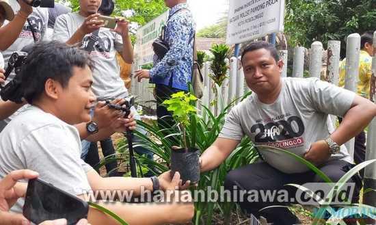 Wartawan Kota Probolinggo, Wali Kota dan Muspida Tanam Bibit Anggur