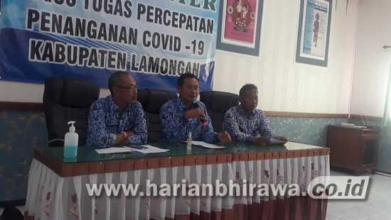 Antisipasi Penyebaran Covid 19, Pemkab Lamongan dan DPRD Tak Lakukan Kunker