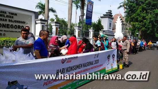 Disperindag Jatim Gelar Pasar Murah di Kabupaten Bojonegoro