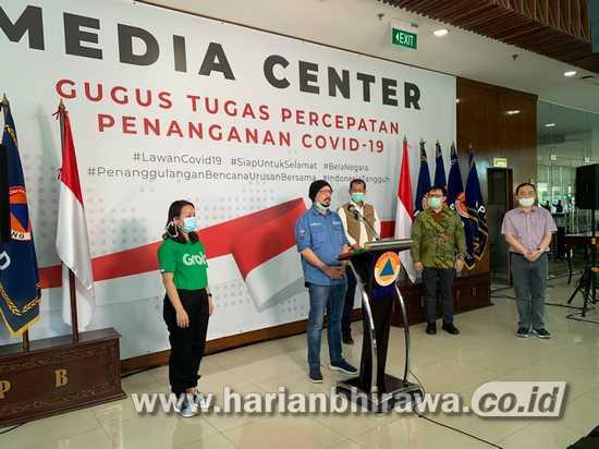 Perangi COVID-19, Tokopedia, OVO dan Grab Donasikan Rp3 Miliar