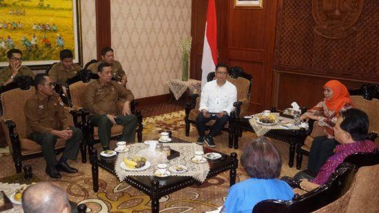 Bangun Hubungan Harmonis, Dirut Perhutani Audiensi dengan Gubernur Jatim