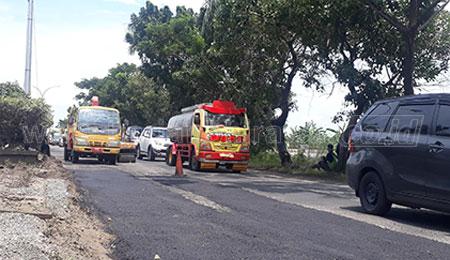 Jalan Nasional Rusak Parah, Bupati Lamongan Sayangkan Kinerja BBPJN