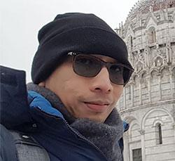 Joeni Jalani Study di Italia Saat Wabah Virus Corona