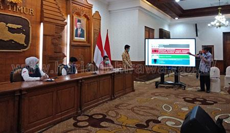 Gresik dan Kabupaten Kediri Masuk Zona Merah Covid-19