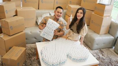 Peduli Cegah Corona, Kosmetik MS Glow  Sumbangkan Bantuan Rp 2 Miliar