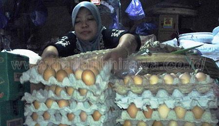 Di Kabupaten Pasuruan, Harga Daging Sapi dan Telur Ikut Naik