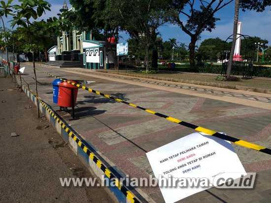 Semua Taman dan Alun-alun Kota Pasuruan Ditutup Sementara