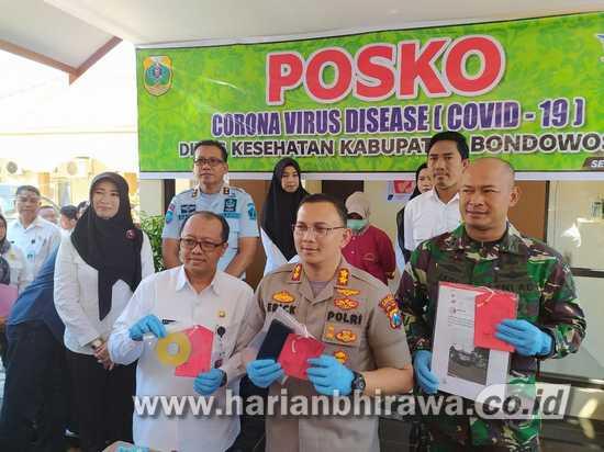 Polres Bondowoso Tangkap Penyebar Berita Hoax Covid-19