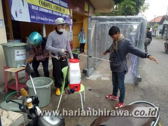 Desa Labuhan Kabupaten Sampang Buat Terobosan Cegah Covid-19