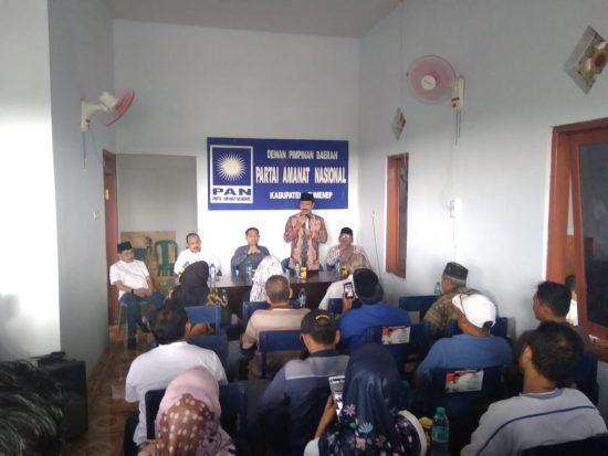 DPD PAN Sumenep Alihkan Dukungan ke Bacabup Fattah Jasin
