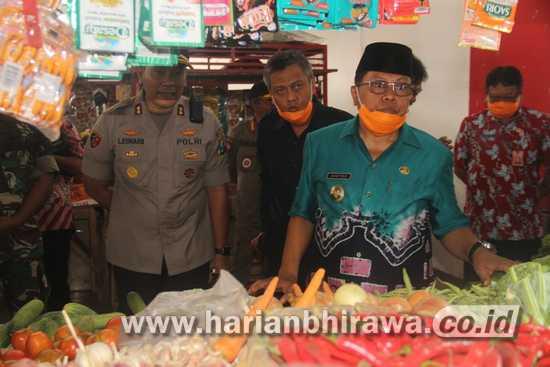 Plt. Wali Kota Blitar Pastikan Ketersediaan Sembako Kota Blitar Aman