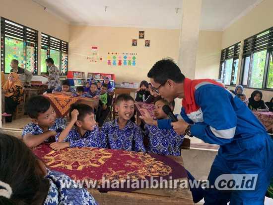 Peringati Bulan K3, PT Pertamina EP Cepu Adakan Penyuluhan Sekolah