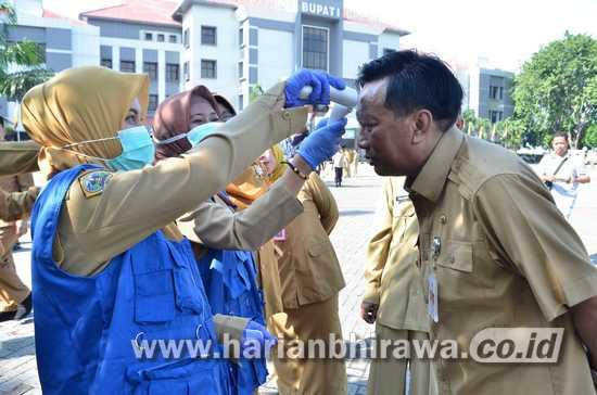 Bupati Sambari Halim Ambil Kebijakan Terkait Virus Corona di Kabupaten Gresik