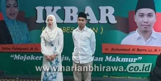 Kantongi Rekom Nasdem, Pasangan IkBar Siap Melaju di Pilbup Mojokerto 2020