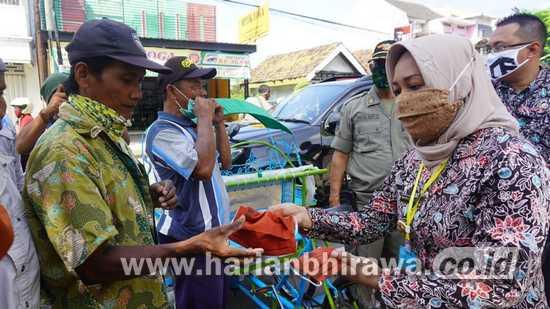 Ning Ita Canangkan Wajib Pakai Masker di Kota Mojokerto