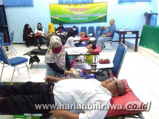 Stock Menipis, Kodim 0823 Situbondo-Warga Donor Darah