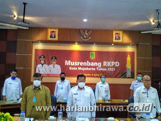DPRD Kota Mojokerto Sampaikan 4 Poin Penting Pembangunan Lewat Musrenbang
