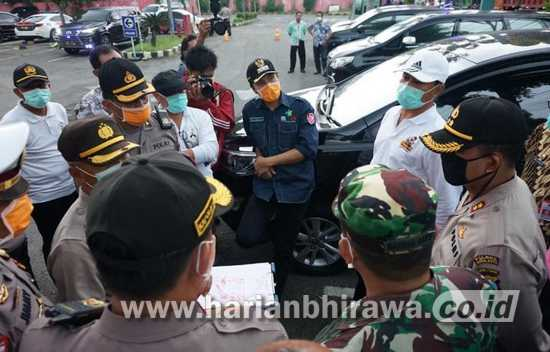Cegah Covid-19, Bupati dan Wali Kota Madiun Sepakat Buka Jalur Satu Arah